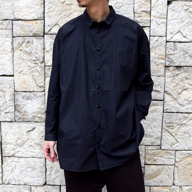 【2020】 toogood(トゥーグッド)/ THE DRAUGHTSMAN SHIRT POPLIN -FLINT- (1)