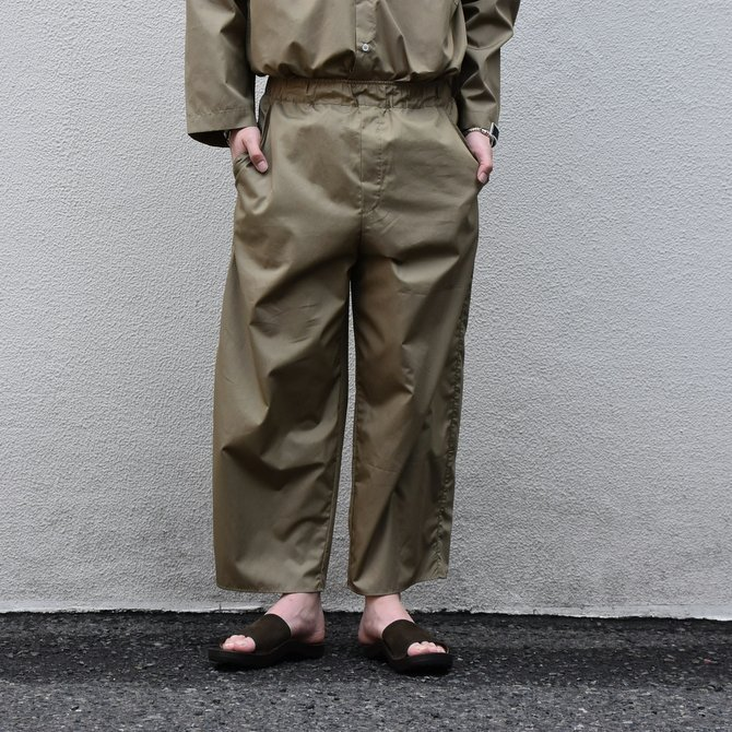 【30% off sale】【2020】 Cristaseya(クリスタセヤ)/LIGHT COTTON MOROCCAN PAJAMA PANTS -Light khaki- #02DA-C(1)