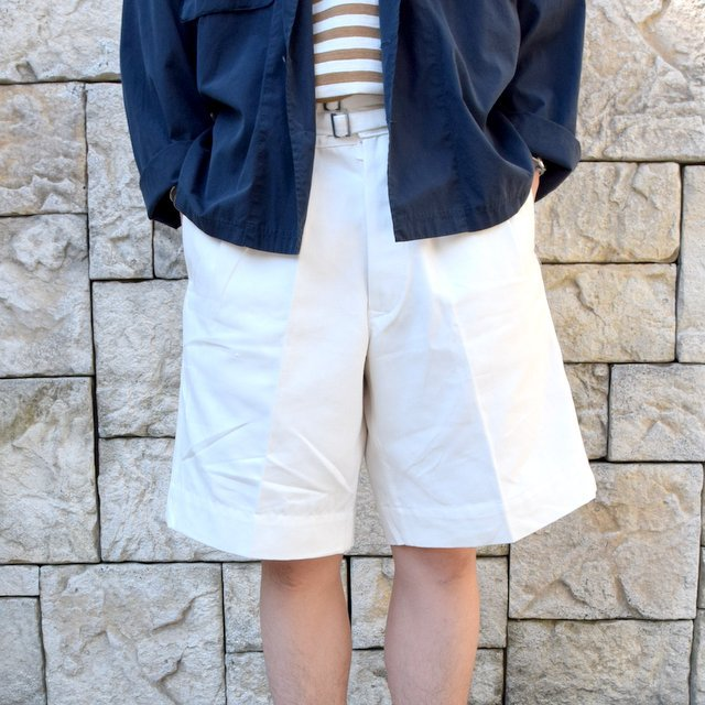 【2020 SS】Dead Stock(デッドストック)/ ITALIAN ARMY GURKHA SHORTS -WHITE-(1)