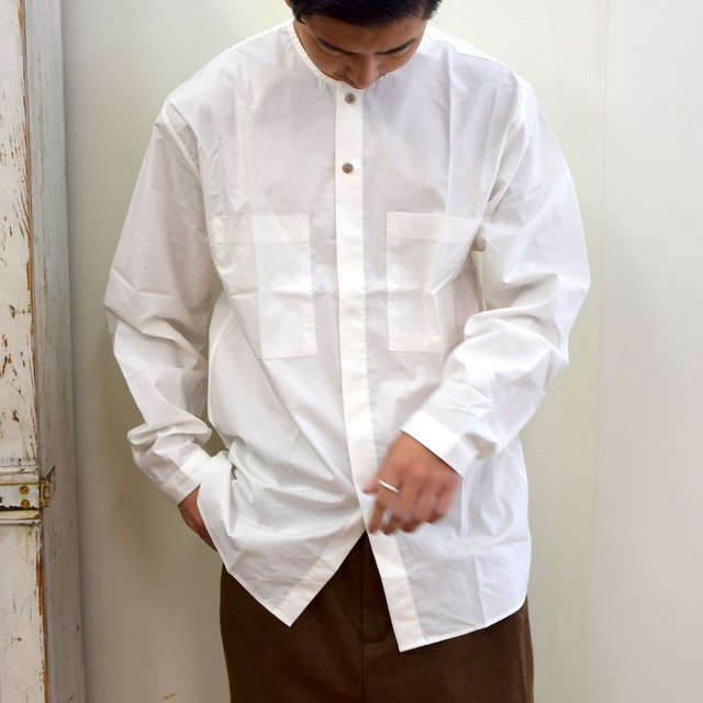 toogood(トゥーグッド)/ THE BLACKSMITH SHIRT -CHALK- #6205200(1)