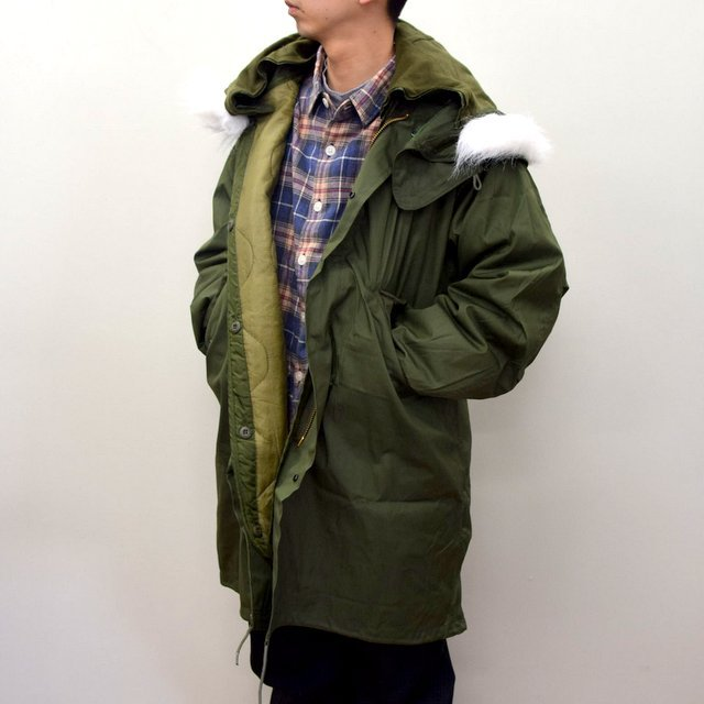 DEAD STOCK(デッドストック)/ US ARMY FISHTAIL PARKA -OLIVE- (1)