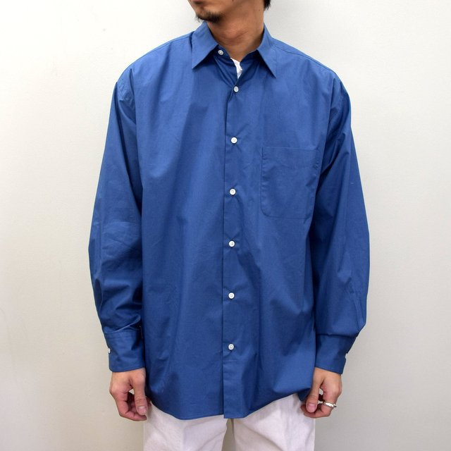 MARKAWARE(マーカウェア)/ COMFORT FIT SHIRT -CYAN BLUE- #A21A-07SH01C(1)