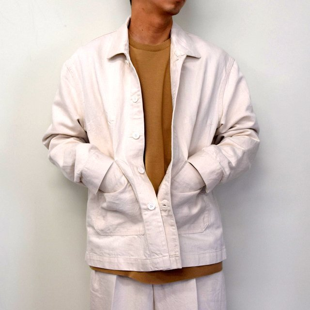 MARKAWARE(マーカウェア)/ WORK JACKET -WHITE- #A21A02BL01C(1)