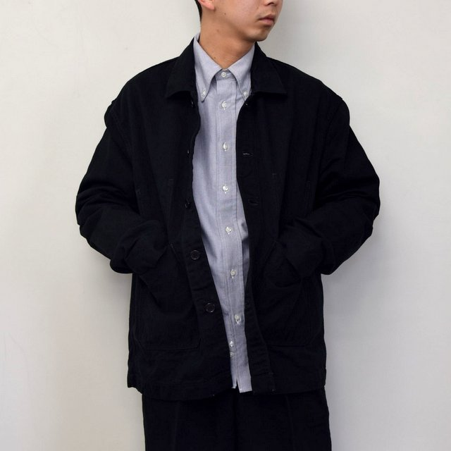 MARKAWARE(マーカウェア)/ WORK JACKET -BLACK- #A21A02BL01C(1)
