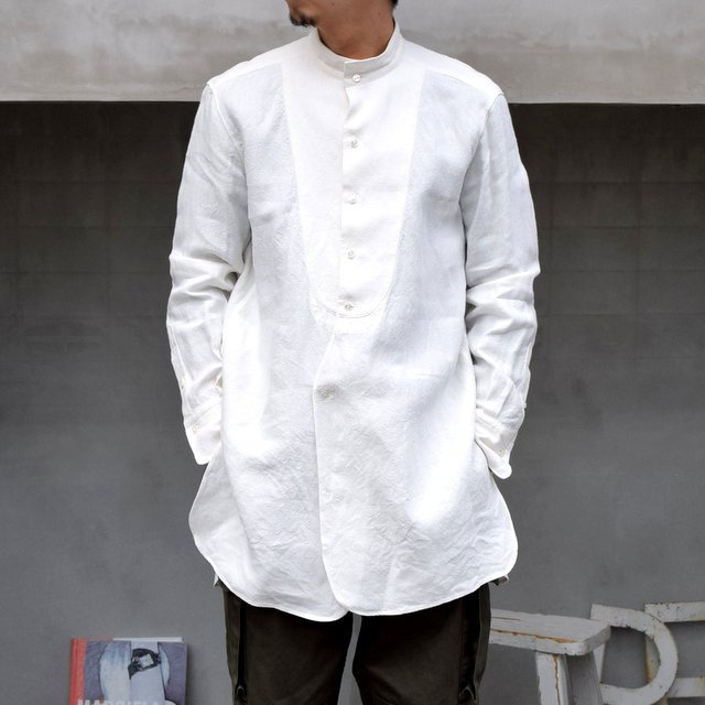 SUS-SOUS (シュス)/ DRESS SHIRTS -OFF WHITE- #05-SS-023-14(1)