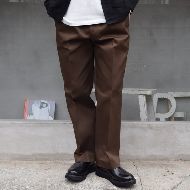 BROWN by 2-tacs (ブラウンバイツータックス)/ Straight slacks -BROWN- B25-P005(1)