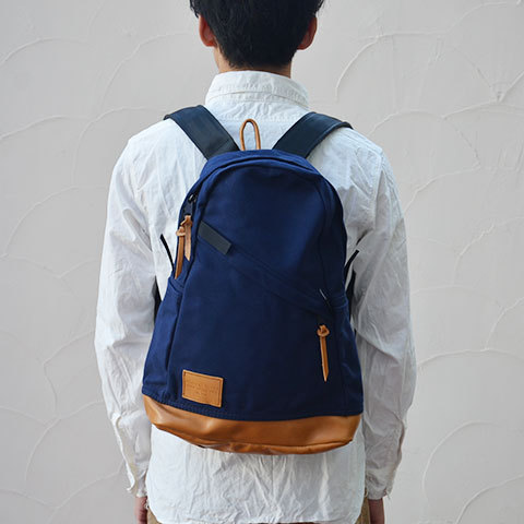 Altadena Works(アルタデナワークス) 801 Daypack(canvas) -Navy Acorn- 【Z】(2)
