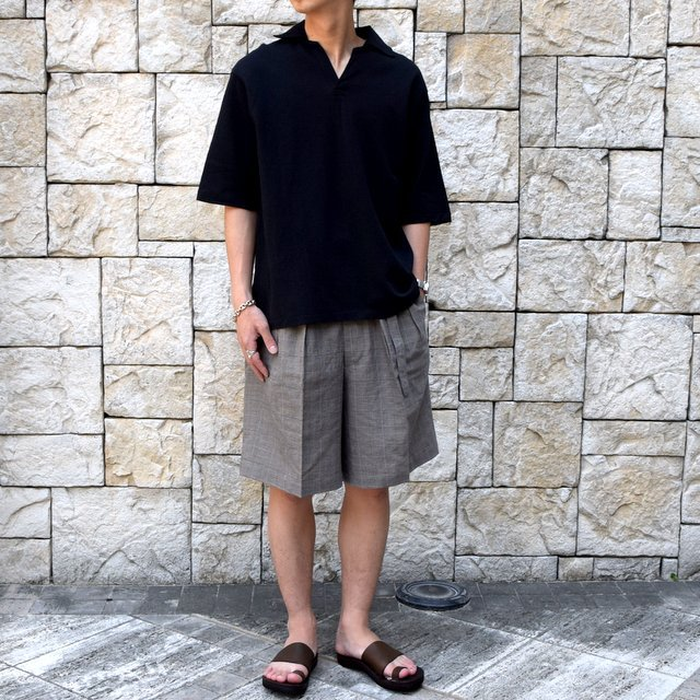【30% off sale 】KAPTAIN SUNSHINE (キャプテンサンシャイン)/ SKIPPER SHIRT  -BLACK-#KS9SCS09(2)