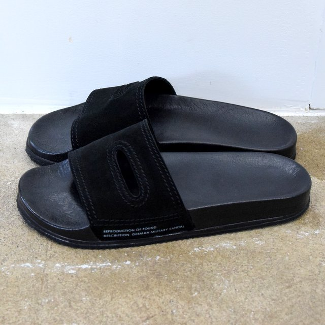 REPRODUCTION OF FOUND(リプロダクション オブ ファウンド)/ GERMAN MILITARY SANDALS -BLACK- #1738L(2)