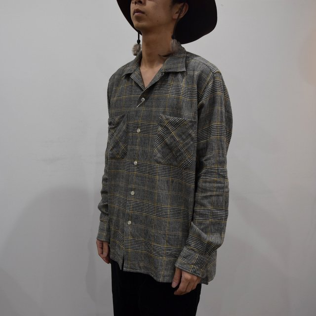 【30% OFF】 MOJITO(モヒート)/ ABSHINTH SHIRT Bar.2.0 -HOUNDS TOOTH (59)- #2094-1101(2)