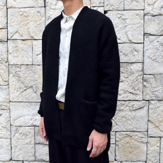 【2019 AW】 too good(トゥーグッド) / THE POET CARDIGAN CASHMERE WOOL KNIT-FLINT- #61101210(2)
