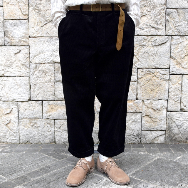 【2019 AW】 too good(トゥーグッド) / THE BRICKLAYER TROUSER JUMBO CORD -FLINT- #62034235(2)