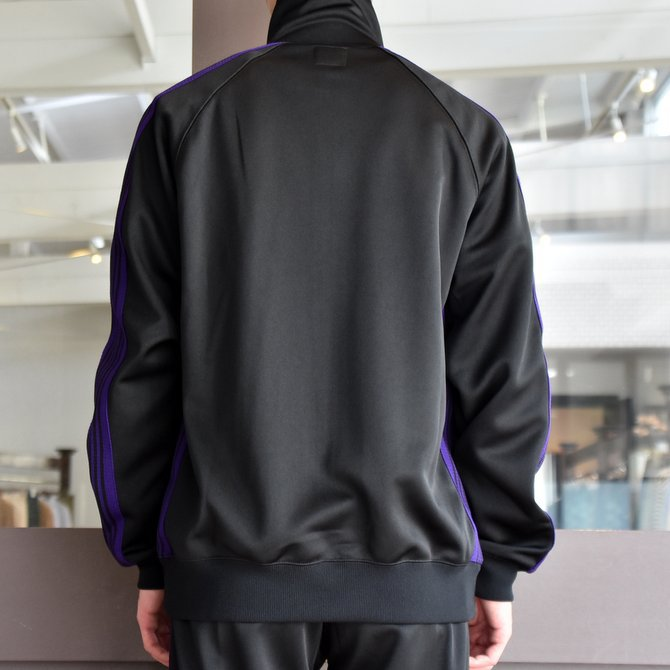 NEEDLES(ニードルス) TRACK JACKET-POLY SMOOTH-BLACK/#FK192(2)