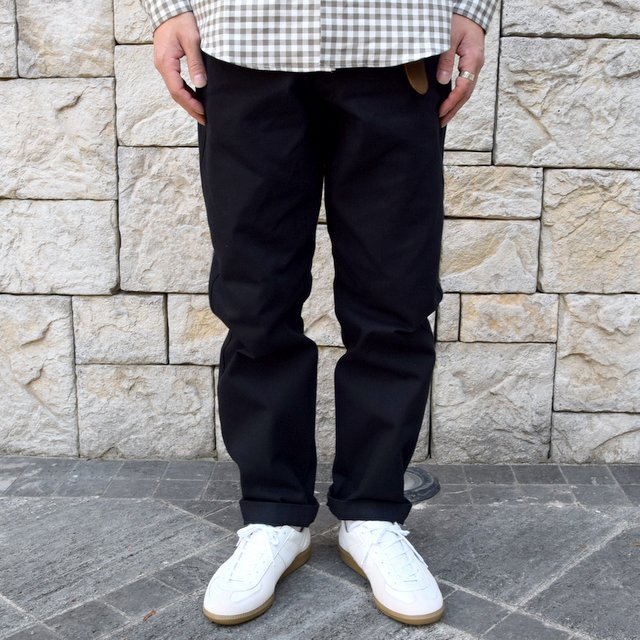 【2019 AW】BROWN by 2-tacs (ブラウンバイツータックス) WIDE -BLACK- #B22-P003(2)