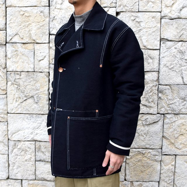 【30% off sale】TENDER Co.(テンダー)Type 962 COOK'S COAT -BLACK- #962(2)