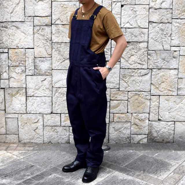 【2020 SS】NEAT(ニート)/ COTTON PIQUE ''OVERALL'' -NAVY- #20-01CPO-NV(2)
