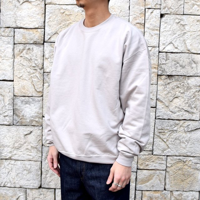 【2020 SS】AURALEE(オーラリー)/ SUPER SOFT SWEAT BIG P/O -GRAY- #A20SP02GU(2)