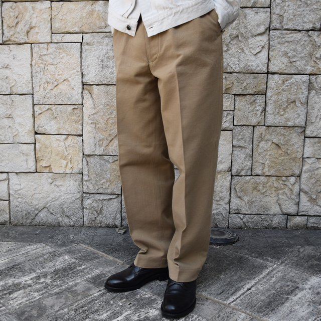 【2020 SS】KAPTAIN SUNSHINE / Wide Chino Trousers KS20SPT07(2)