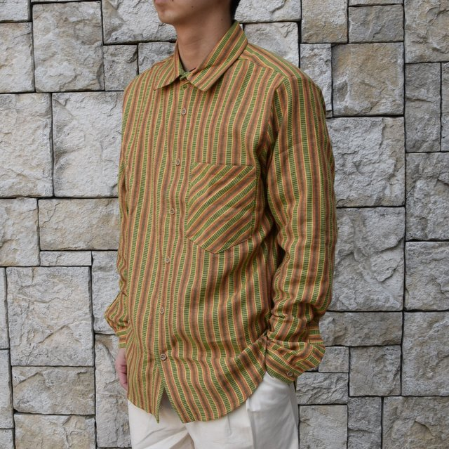 【2020 SS】FRANK LEDER(フランクリーダー) / COTTON SHIRT -YELLOW- #0836008(2)