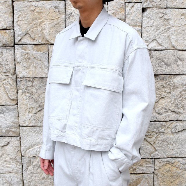 【2020 SS】YOKE(ヨーク)/ WIDE DENIM BLOUSON -2色展開- #YK20SS0104B(2)