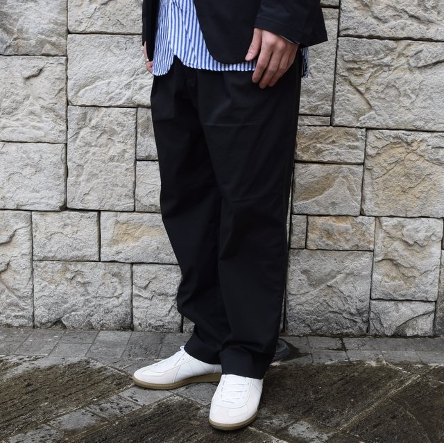 【2020 SS】 A VONTADE(ア ボンタージ)/ COMFORT WIDE EASY TROUSERS -BLack- #VTD-0423-PT(2)