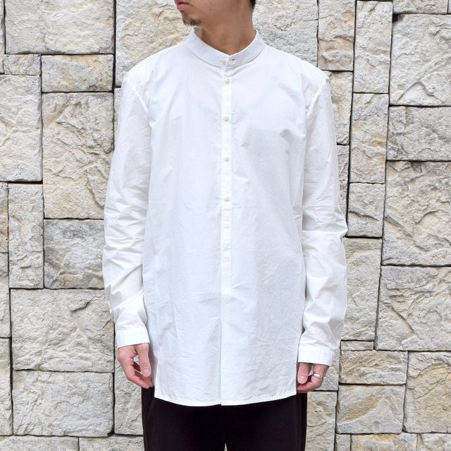 【2020 SS】 toogood(トゥーグッド)/ THE BOTANIST SHIRT POPLIN -CHALK- (2)