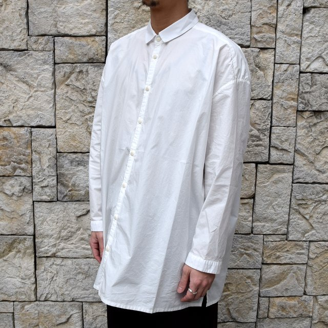 【2020】 toogood(トゥーグッド)/ THE DRAUGHTSMAN SHIRT POPLIN -CHALK- (2)