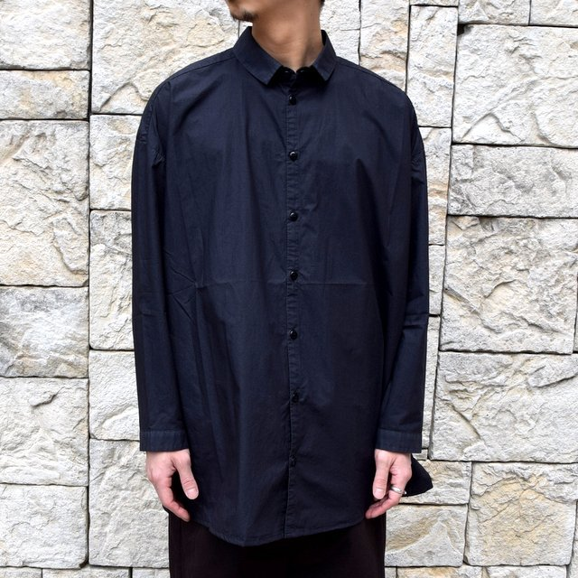 【2020】 toogood(トゥーグッド)/ THE DRAUGHTSMAN SHIRT POPLIN -FLINT- (2)