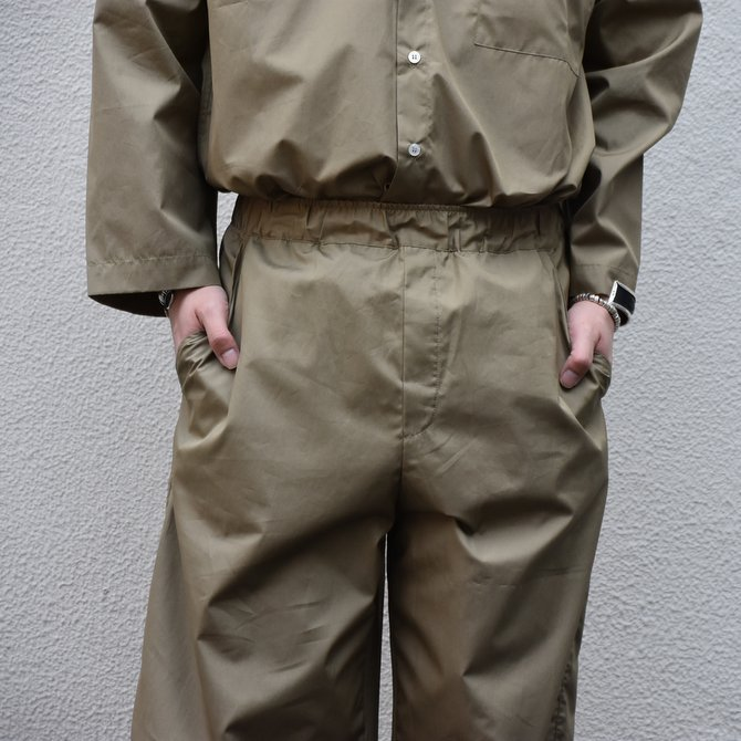 【30% off sale】【2020】 Cristaseya(クリスタセヤ)/LIGHT COTTON MOROCCAN PAJAMA PANTS -Light khaki- #02DA-C(2)
