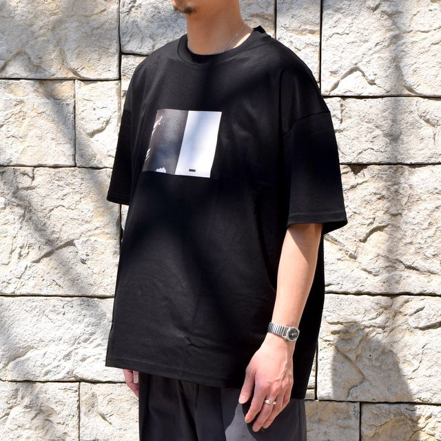 【2020 SS】stein(シュタイン)/ PRINT TEE ''TO COMPLETE'' -BLACK- #ST154(2)