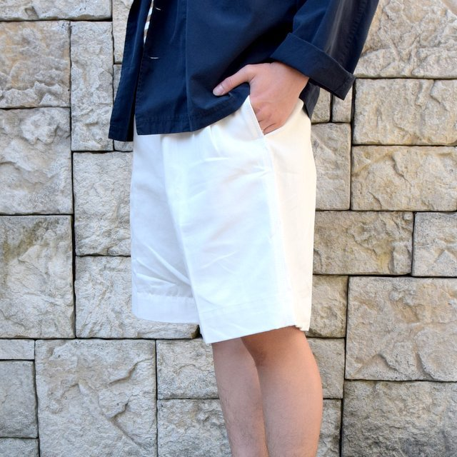 【2020 SS】Dead Stock(デッドストック)/ ITALIAN ARMY GURKHA SHORTS -WHITE-(2)