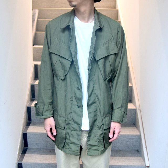 DEAD STOCK(デッドストック)/ 60s US ARMY ''JUNGLE FATIGUE JACKET'' 4th -OLIVE- #MILITARY265(2)