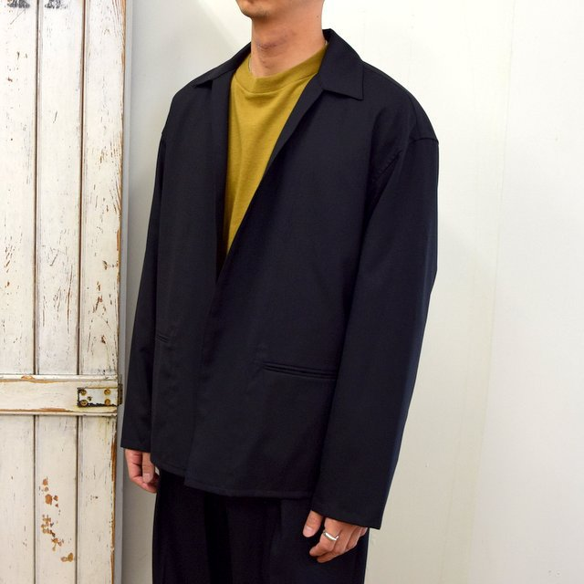 YOKE(ヨーク)/ JACKET CARDIGAN -BLACK- #YK20AW0137J(2)