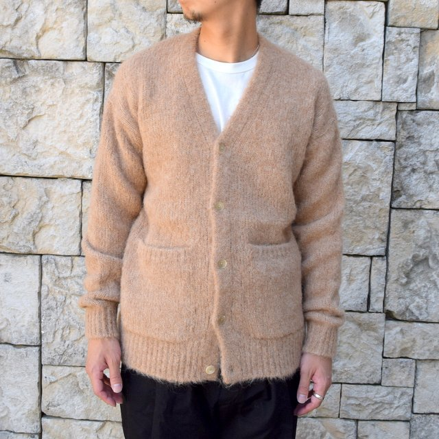 【2020】 AURALEE(オーラリー)/ ALPACA WOOL SUPER LIGHT KNIT BIG CARDIGAN -TOP BEIGE- #A20AC01AW(2)