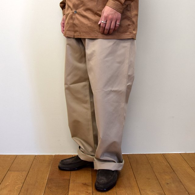 E. TAUTZ(イートウツ)/ FIELD TROUSER-BEIGE-  6311702009-BE(2)