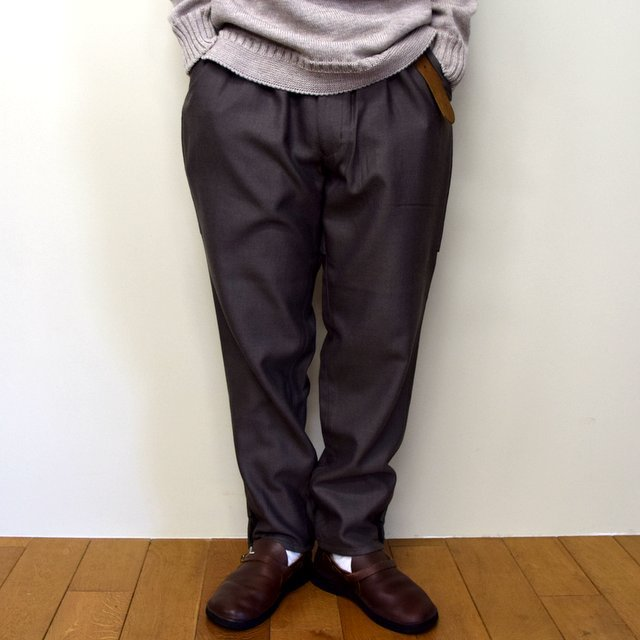 HOMELESS TAILOR(ホームレステイラー)/ HIP GUSSET PANTS -BROWN- #HTK-20F-010(2)