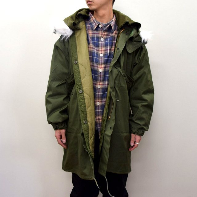 DEAD STOCK(デッドストック)/ US ARMY FISHTAIL PARKA -OLIVE- (2)