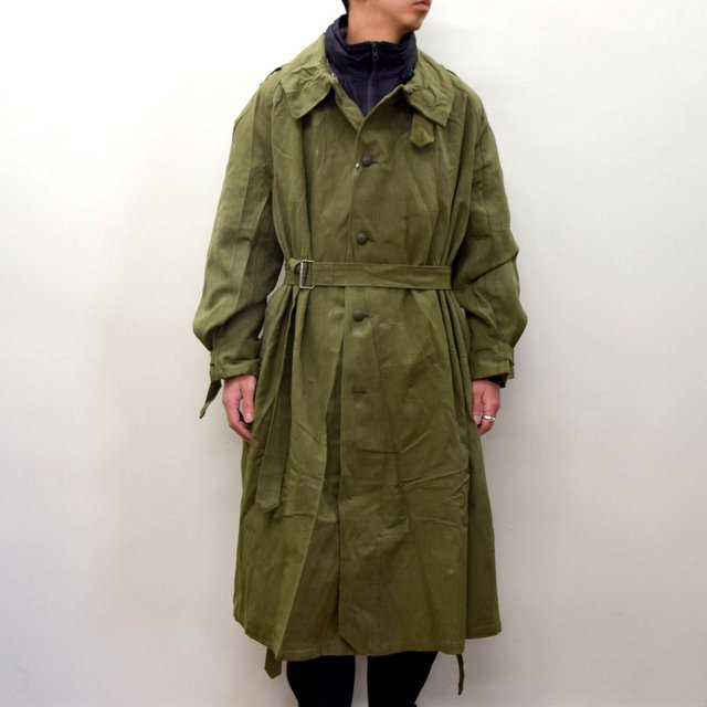 DEAD STOCK(デッドストック)/ FRENCH ARMY MOTORCYCLE COAT -OLIVE- #MILITARY300(2)