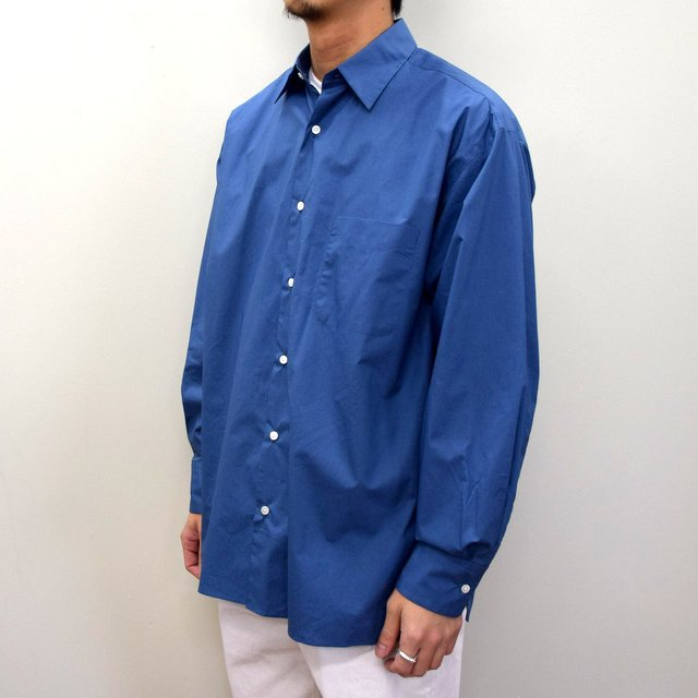 MARKAWARE(マーカウェア)/ COMFORT FIT SHIRT -CYAN BLUE- #A21A-07SH01C(2)