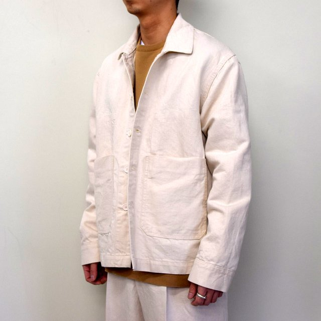 MARKAWARE(マーカウェア)/ WORK JACKET -WHITE- #A21A02BL01C(2)