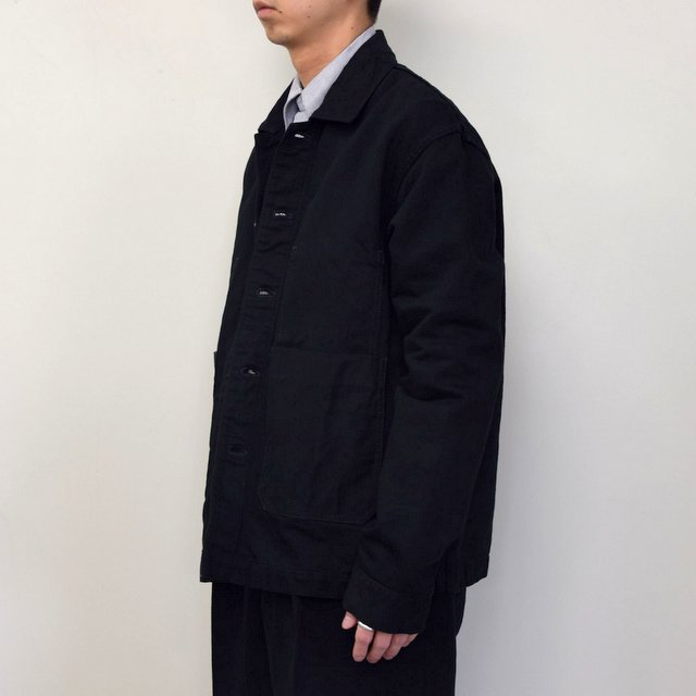 MARKAWARE(マーカウェア)/ WORK JACKET -BLACK- #A21A02BL01C(2)
