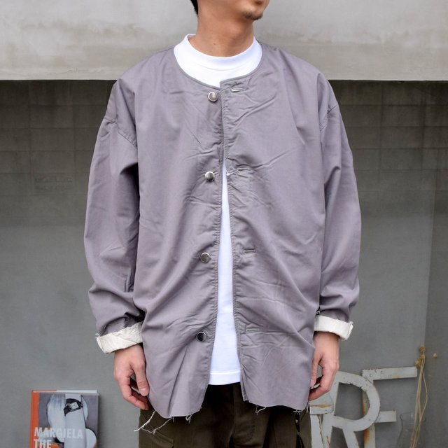 ISSUETHINGS(イシューシングス)/ NO COLLAR JACKET -2Color- #(2)