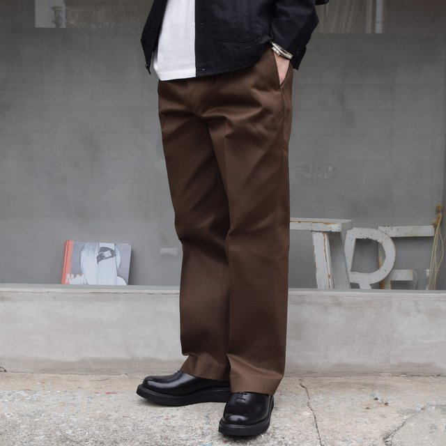 BROWN by 2-tacs (ブラウンバイツータックス)/ Straight slacks -BROWN- B25-P005(2)