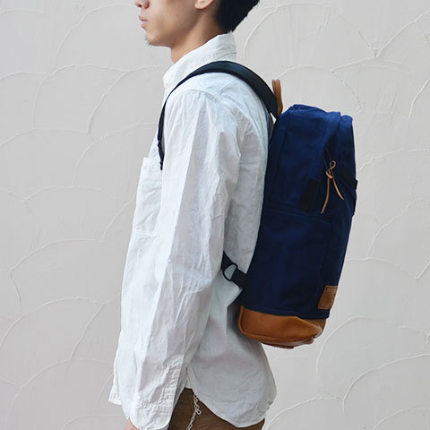 Altadena Works(アルタデナワークス) 801 Daypack(canvas) -Navy Acorn- 【Z】(3)