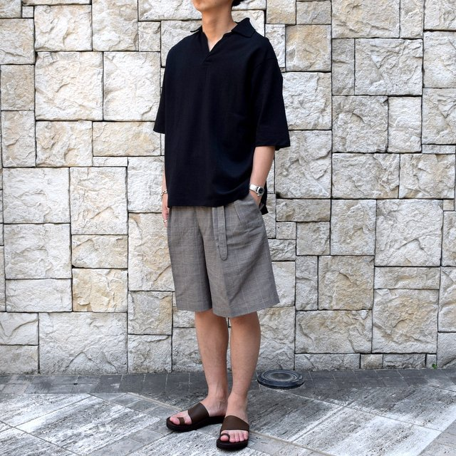 【30% off sale 】KAPTAIN SUNSHINE (キャプテンサンシャイン)/ SKIPPER SHIRT  -BLACK-#KS9SCS09(3)