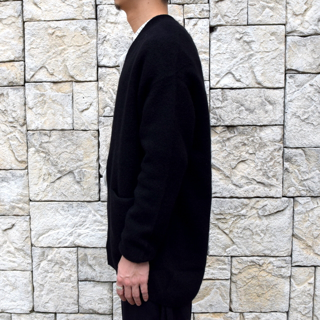 【2019 AW】 too good(トゥーグッド) / THE POET CARDIGAN CASHMERE WOOL KNIT-FLINT- #61101210(3)