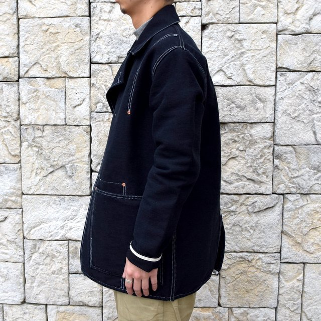 【30% off sale】TENDER Co.(テンダー)Type 962 COOK'S COAT -BLACK- #962(3)