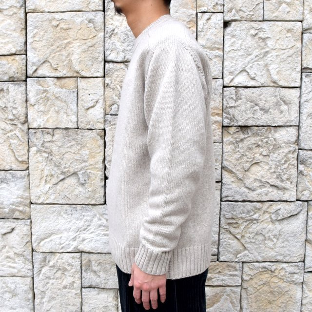 BATONER(バトナ—)/ HEAVY WEIGHT CASHMERE CREW NECK BN-19FL-044(3)