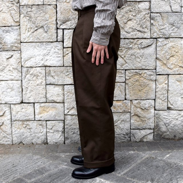 【2020 SS】NEAT(ニート)/ HOPSACK ''WIDE'' -KHAKI- #20-01HSW-KH(3)