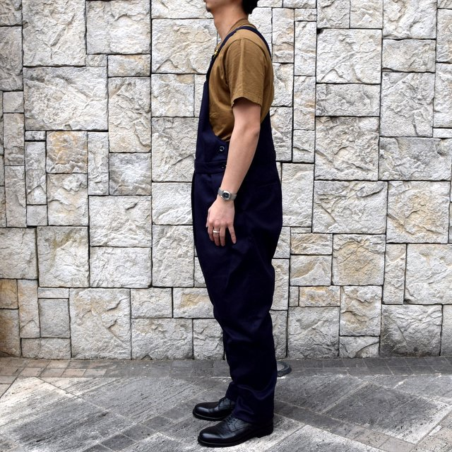 【2020 SS】NEAT(ニート)/ COTTON PIQUE ''OVERALL'' -NAVY- #20-01CPO-NV(3)